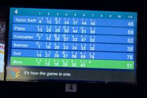 Bowling with Batman and Taylor Swift