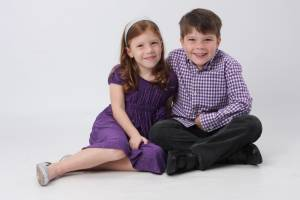 Carter and Megan 5yr old Photoshoot