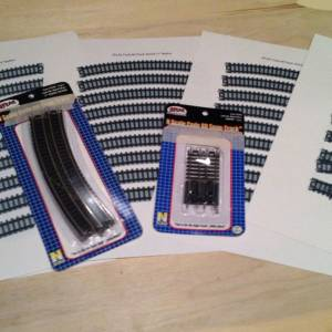 N-Scale Atlas Track Templates