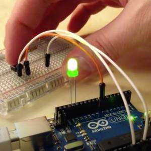 Push Button LED Control with Arduino